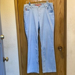 Baby blue Guess cords
